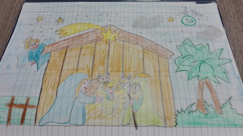 Il Natale in classe seconda a Dicembre-italiano
