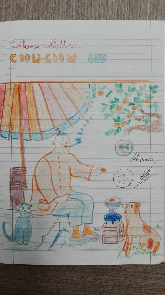 Cion Cion blu libro per bambini