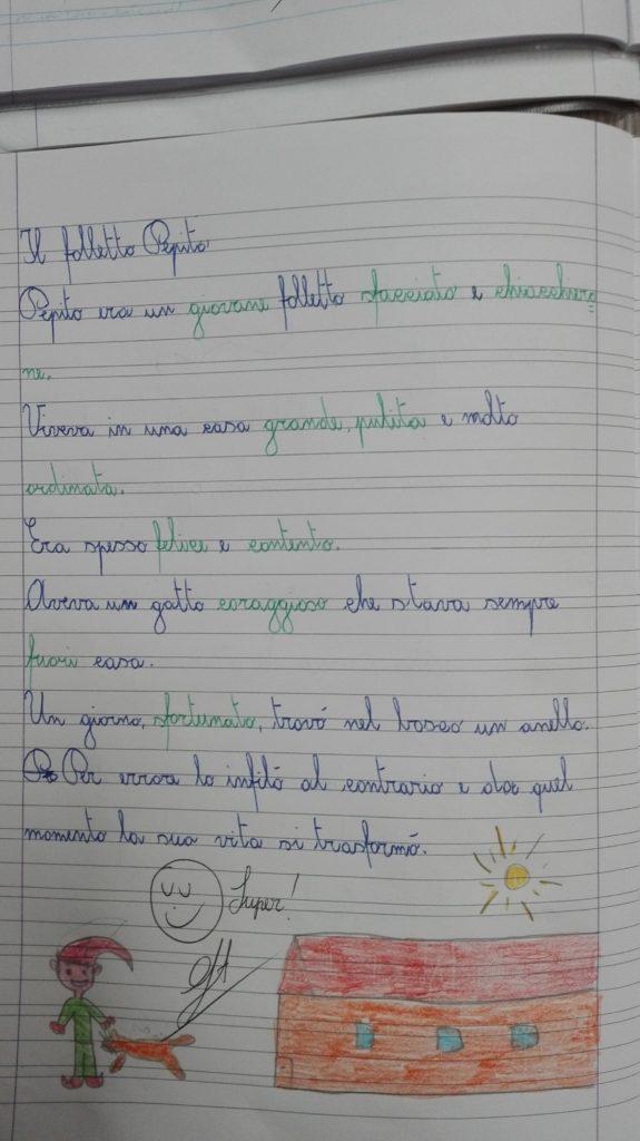 Classe Terza Italiano Ordine Alfabetico Dizionario Sinonimi E