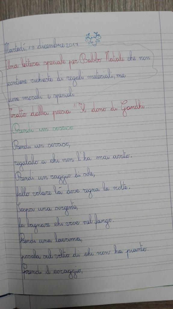 Poesie Di Natale 3 Media.Classe Terza Italiano Testi Poetici Dicembre Maestra Anita