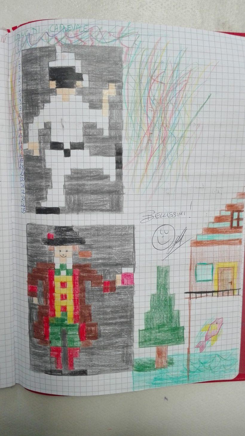 coding di Carnevale + mimosa