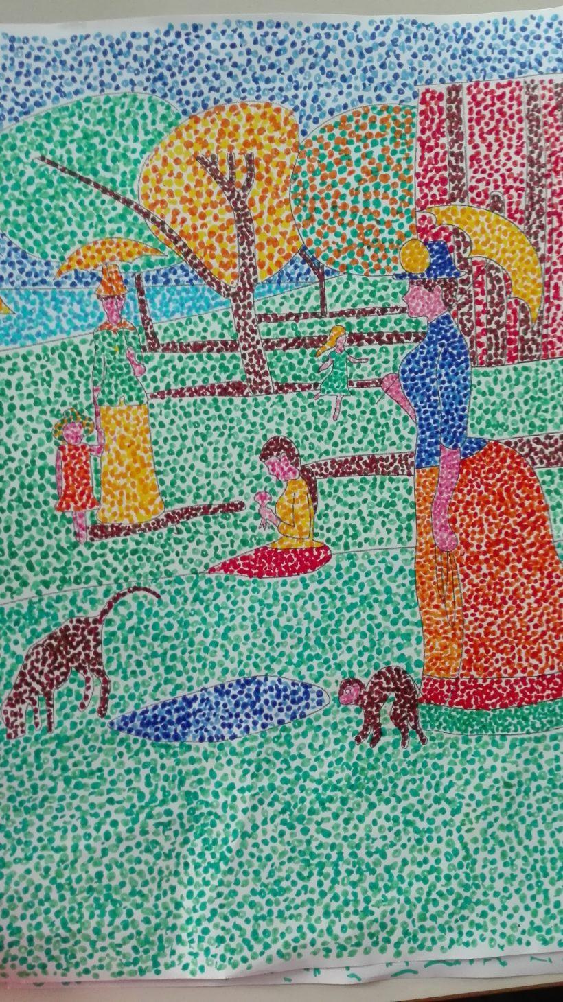 Puntinismo Con G Seurat Postimpressionismo Maestra Anita
