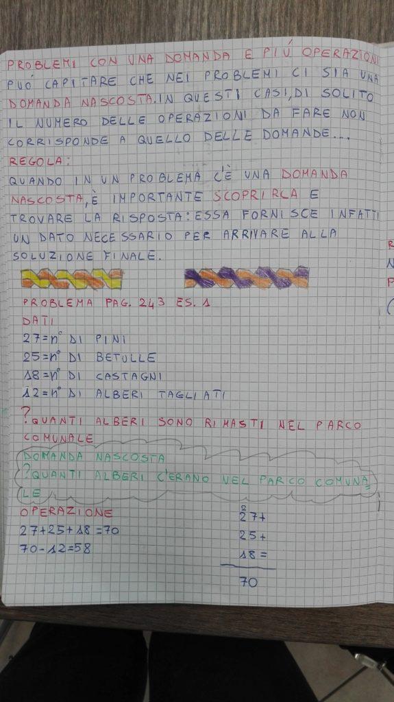 Problemi-Matematica in quarta- ottobre - Maestra Anita