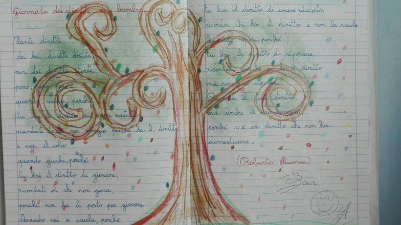 diritti dei bambini e festa dell'albero