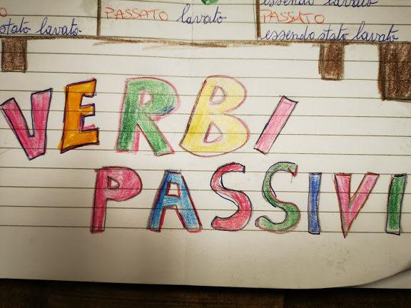 Forma attiva e passiva dei verbi