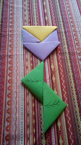 triangoli origami
