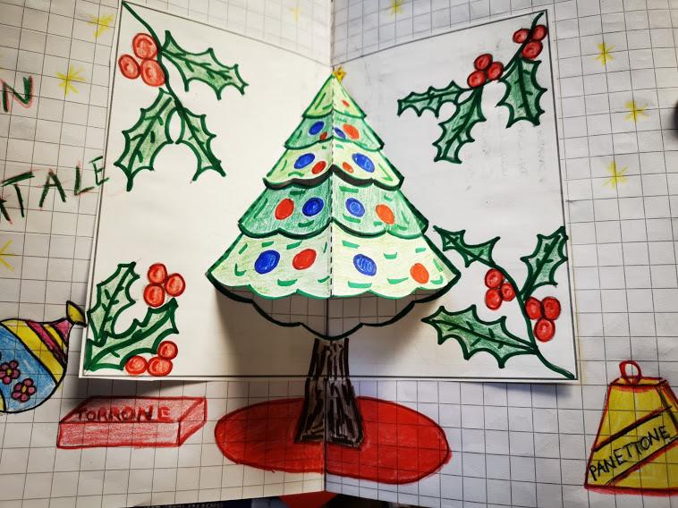 Lavoretti Di Natale Classe Seconda.Un Albero Di Natale Speciale Italiano In Prima Dicembre Maestra Anita